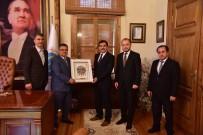 BILECIK MERKEZ - Yerel Yönetimler Başkan Yardımcısı Koca'dan Başkan Yağcı'ya Ziyaret