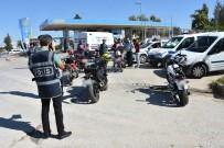 Antalya'da 'Son Sürat-2' İsimli Motosiklet Denetimi Uygulaması