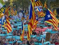 İŞÇI PARTISI - Ayrılıkçı Katalanlardan Barselona'da büyük gösteri