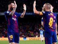 MALAGA - Barcelona zorlanmadı