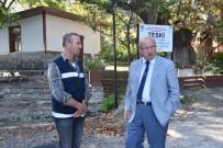 HOŞKÖY - Başkan Albayrak Şarköy'de İncelemelerde Bulundu