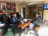 ALLAH - Başkan Yaman, Fabrika Müdürüyle Bir Araya Geldi
