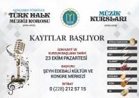 TÜRK HALK MÜZİĞİ - Bilecik Belediyesi Müzik Kursları 23 Ekim'de Başlıyor