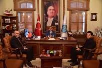 CAMİİ - Bilecik M Tipi Kapalı Ve Açık Ceza İnfaz Kurumu Müdürü Gül'den Başkan Yağcı'ya Ziyaret