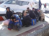 ASSOS - Çanakkale'de 18 Mülteci Yakalandı