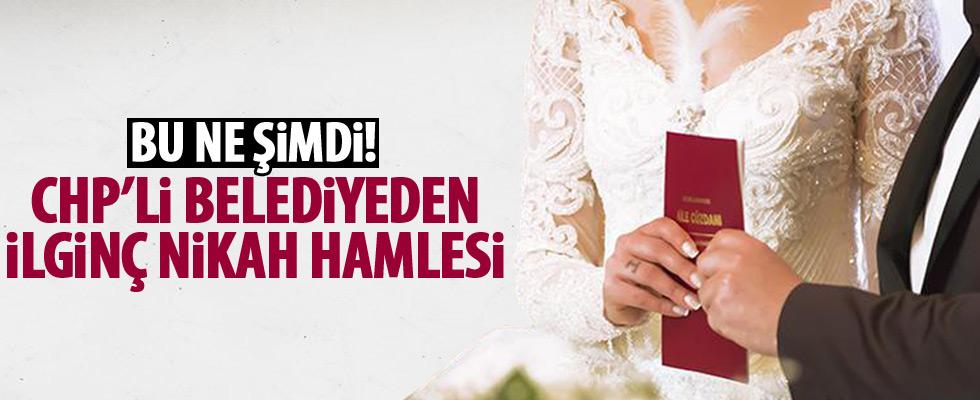 CHP'li belediyenin nikah kurnazlığı