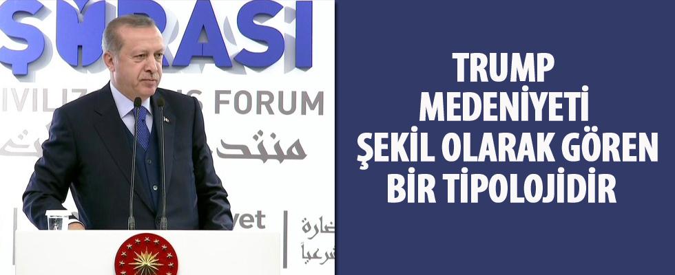 Cumhurbaşkanı Erdoğan'dan Trump'a: Ben ülkenize medeni demem...