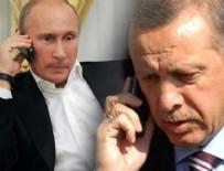 SURİYE - Erdoğan, Putin ile telefonda görüştü