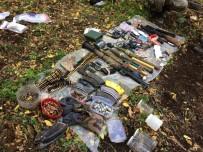 UZMAN ÇAVUŞ - Erzincan'da Teröristlere Ait Çok Sayıda Mühimmat Bulundu