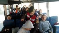 TAŞIMALI EĞİTİM - Jandarmadan Okul Servis Araçlarına Sıkı Denetim