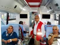 KıZıLAY - Kızılay, Sarıgöl'de 2 Günde 110 Ünite Kan Topladı