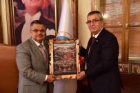 AHMET ÖZEN - MHP İl Başkanlığı'ndan Başkan Yağcı'ya Ziyaret