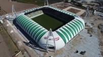 Spor Toto Akhisar Belediye Stadyumu'nda Hibrit Çim Ekimi Başladı
