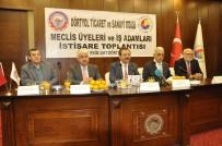 HACI BAYRAM TÜRKOĞLU - TOBB Başkanı Hisarcıklıoğlu Dörtyol Ve Erzin İlçelerini Ziyaret Etti