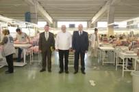 Vali Çiftçi OSB'de Üretim Tesislerini Gezdi