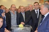 METIN ÇELIK - AK Parti Taşköprü İlçe Başkanlığına Hüseyin Erol Seçildi