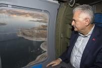 SUÇ ORANI - Başbakan Yıldırım Karamağra Köprüsü'nde Makam Aracını Kullandı