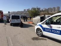GÜLHANE - Başkentte Trafik Kazası Açıklaması 1 Ölü, 2 Yaralı