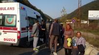 ŞİFALI SU - Düzce'de Minibüs İle Otomobil Çarpıştı Açıklaması 7 Yaralı