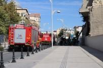 KOZANLı - Gaziantep'te Kullanılmayan Barakada Yangın