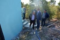 İÇME SUYU - Gördes'in İçme Suyu Depoları Yenileniyor
