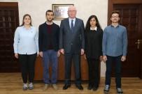 VATANSEVER - TGB Üyeleri Başkan Kurt'u Ziyaret Etti
