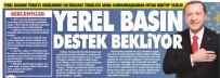 KAMU İHALE KANUNU - Yerel Basının Türkiye Genelindeki On Binlerce Temsilcisi Adına Cumhurbaşkanına Ortak Mektup Yazıldı