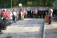 YAKUP GÜNEY - Ahmet Taner Kışlalı Ortaokuluna Halı Saha