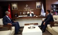 Akçakent Belediye Başkanından, İbrahim Karaosmanoğlu'na Ziyaret
