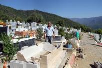 CIKCILLI - Alanya'da Aile Mezarlığı Parçalandı