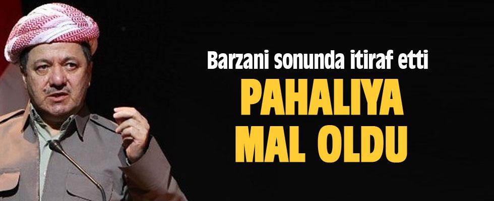 Barzani sonunda itiraf etti.