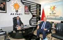 Başkan Kutlu, Mustafa Alkayış'a Başarılar Diledi