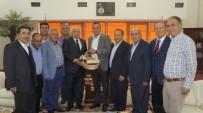 ALİ COŞKUN - Eski Bakan Coşkun'dan Aydın Ticaret Borsası'nın Yeni Başkanı Çondur'a Ziyaret
