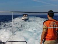 SÜRAT TEKNESİ - Kaçmak İçin Ukraynalı Organizatörleri Kullanan FETÖ Üyeleri Denizde Yakalandı