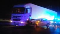 Manisa'da Trafik Kazası Açıklaması 1 Yaralı
