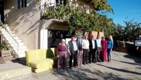 Manisa'da Yangın Mağduru Aileler Yalnız Kalmadı