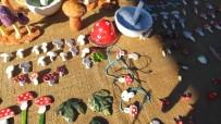 Mantar Festivalinde, Mantar Seramikler Yok Sattı