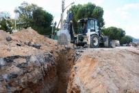 Menteşe'de Altyapı Çalışmaları Devam Ediyor