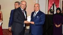 MEÜ Rektör Çamsarı'ya 'Üniversite-Kent Bütünleşmesi' Ödülü Verildi