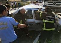Milas - Yatağan Karayolunda Kaza; 1 Yaralı