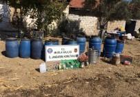 BOZARMUT - Muğla'da 595 Litre Sahte İçki Ele Geçirildi