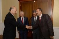 Posta Teşkilatından Vali Azizoğlu'na Ziyaret