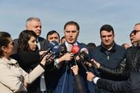 YÜKSEK ATEŞ - Şeref Malkoç Deniz Baykal'ı Ziyaret Etti