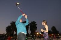 DOĞUM GÜNÜ PASTASI - Sürpriz evlilik teklifinde yüzük Drone ile gökyüzünden geldi