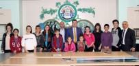 Tiyatro Kulübü Öğrencilerinden Başkan Balta'ya Teşekkür Ziyareti