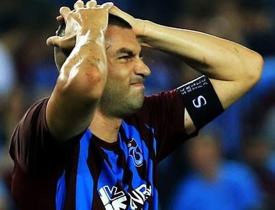 Trabzonspor'a Burak Yılmaz'dan kötü haber