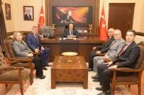 AVRASYA TÜNELİ - Vali Çiftçi, PTT'yi Ağırladı