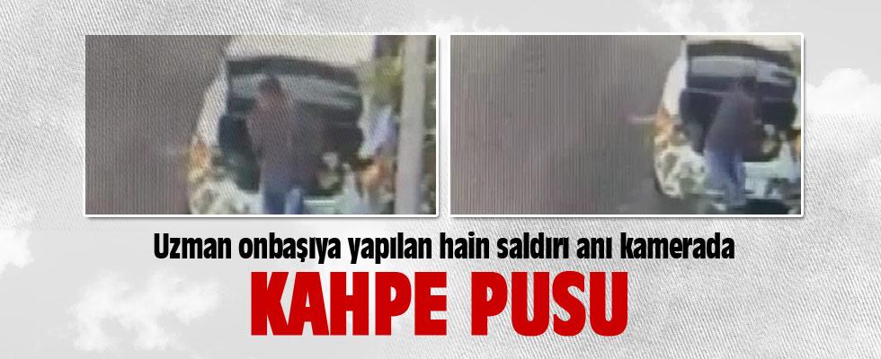 Diyarbakır'da uzman onbaşına saldırı anı kamerada