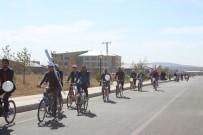 CIHANGIR - Ağrı'da Sağlıklı Yaşam İçin Pedal Çevirdiler