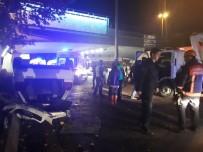 Ankara'da Trafik Kazası Açıklaması 3 Yaralı